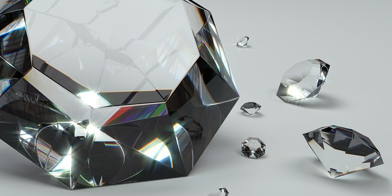 jewelry blockchain diamonds