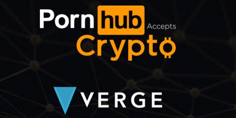 pornhub verge crypto