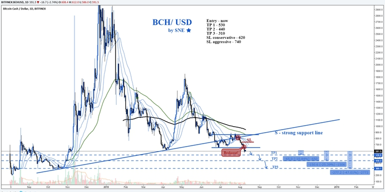 BCH/USD by SNE 10.08