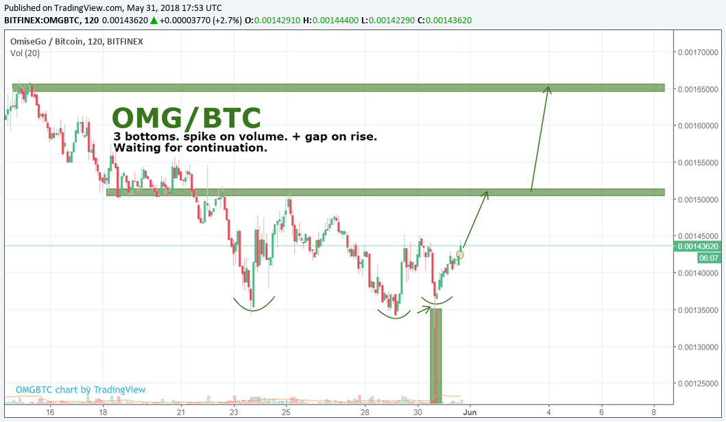 OMG/BTC by SNE 31.05