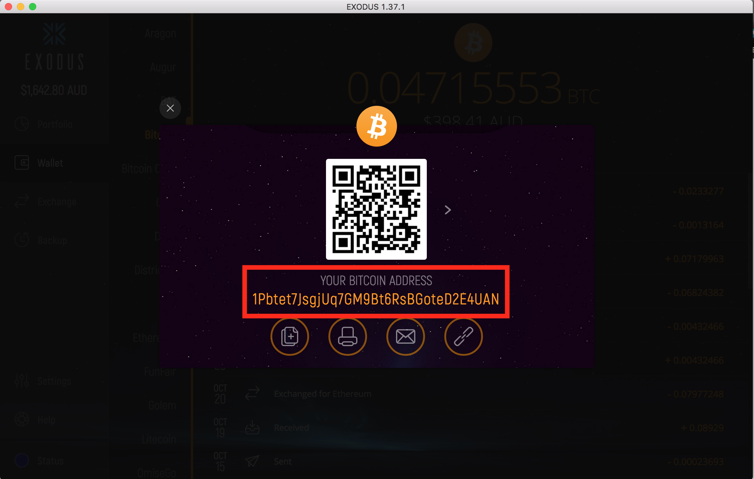 sent wrong cryptocurrency to wallet